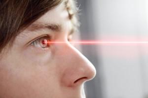 Risiko beim Augen lasern